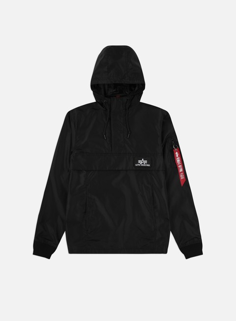Hooded Jackets Alpha Industries TT Anorak LW Jacket