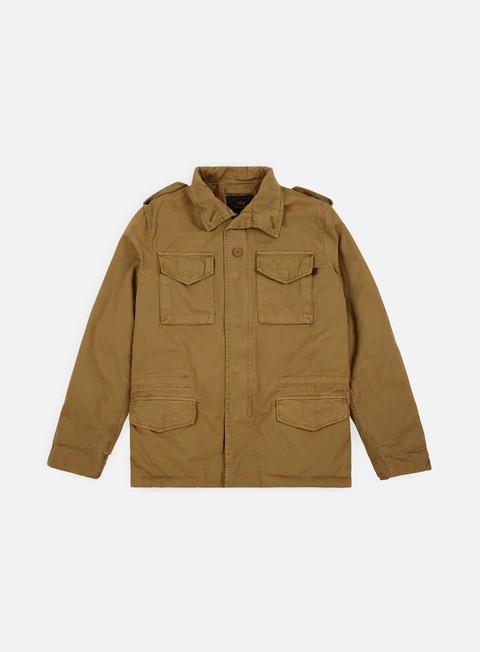 Outlet e Saldi Giacche Intermedie Alpha Industries Vintage M-65 CW Jacket
