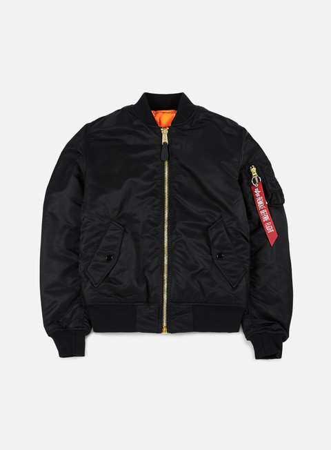 giacche alpha industries wmns ma 1 flight jacket black