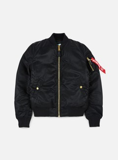 Alpha Industries - WMNS MA-1 VF Flight Jacket, Black 1