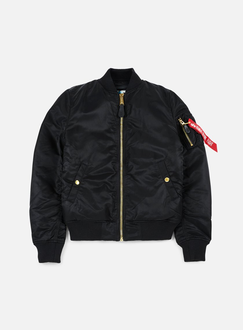 Alpha Industries - WMNS MA-1 VF Flight Jacket, Black
