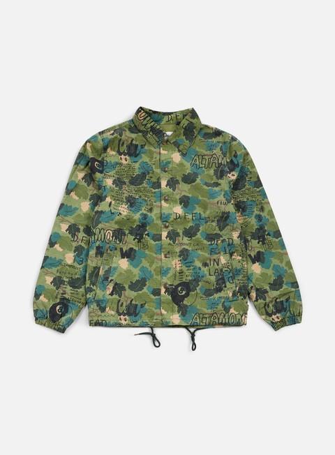 giacche altamont erik brunetti dfll coach jacket camo