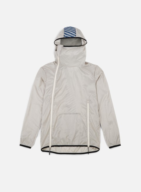 giacche asics packable jacket birch