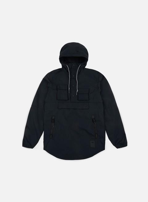 giacche asics premium jacket black