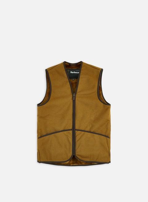 Barbour Warm Pile Waistcoat Zip-In Liner Vest