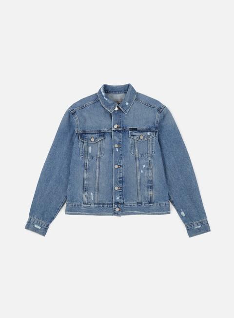 giacche calvin klein jeans classic trucker jacket vintage rigid