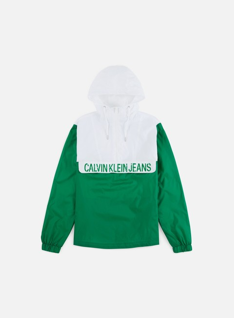 Calvin Klein Jeans Color Block Nylon Jacket