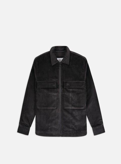Camicie a Manica Lunga Calvin Klein Jeans Corduroy Overshirt
