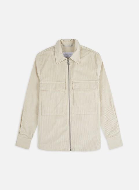 Long Sleeve Shirts Calvin Klein Jeans Corduroy Overshirt