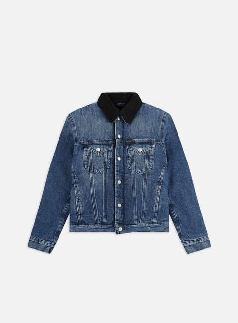 Outlet e Saldi Giacche Intermedie Calvin Klein Jeans Foundation Sherpa Jacket