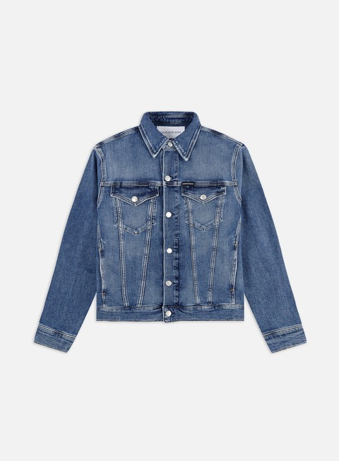 Giacche Intermedie Calvin Klein Jeans Foundation Slim Denim Jacket
