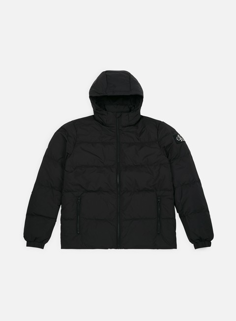 Down Jackets Calvin Klein Jeans Hooded Down Jacket
