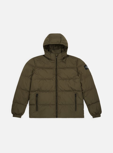 Sale Outlet Winter Jackets Calvin Klein Jeans Hooded Down Jacket