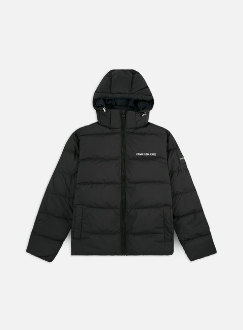 Down Jackets Calvin Klein Jeans Hooded Down Puffer Jacket