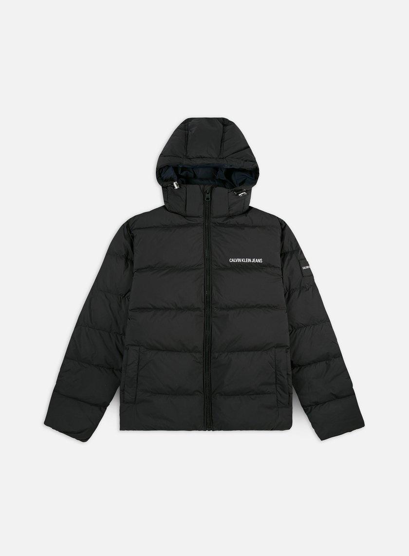 Calvin Klein Jeans Hooded Down Puffer Jacket