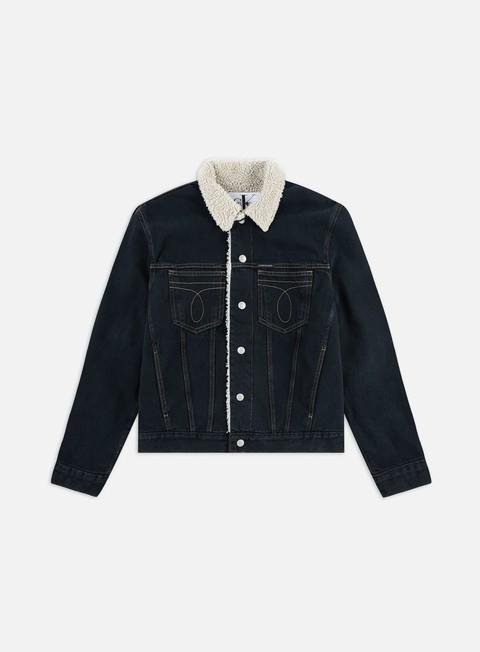 Denim Jackets Calvin Klein Jeans Iconic Omega Sherpa Jacket