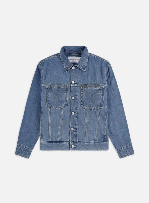 Denim Jackets Calvin Klein Jeans Iconic Oversized Denim Jacket