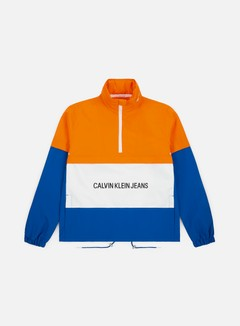 Calvin Klein Jeans Insitutional Logo Pop Over Jacket
