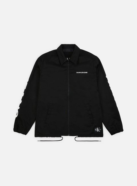 Calvin Klein Jeans Institutional Logo Coach Jacket