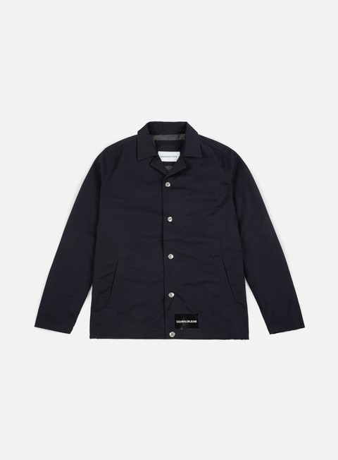 Outlet e Saldi Giacche Leggere Calvin Klein Jeans Institutional Logo Coach Jacket