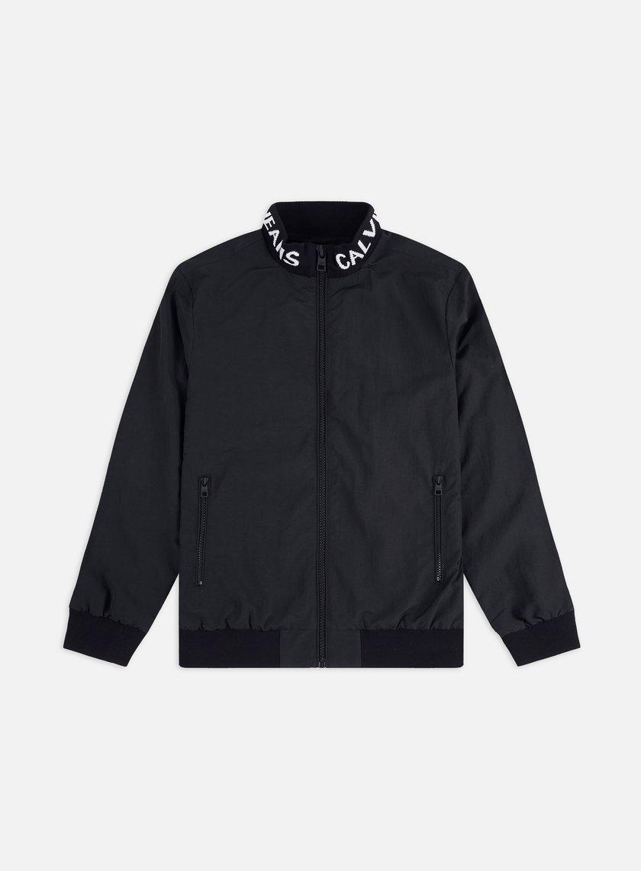 Calvin Klein Jeans Institutional Logo Collar Nylon Jacket
