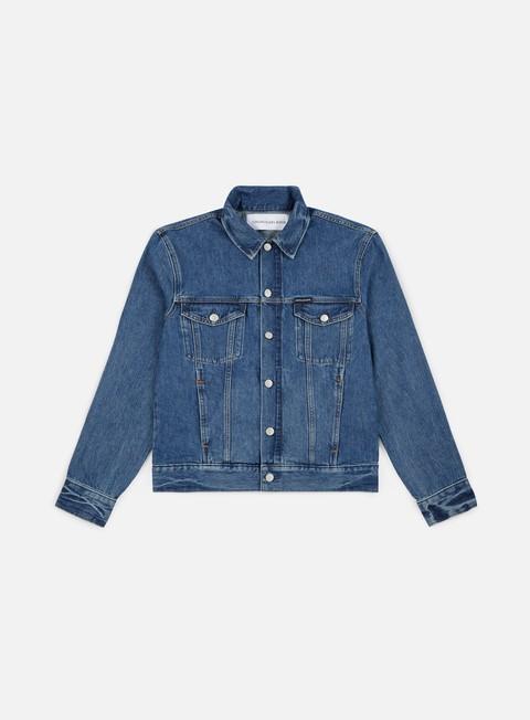 giacche calvin klein jeans modern classic jacket lyon blue