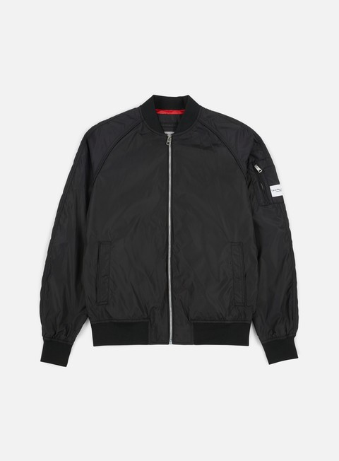 giacche calvin klein jeans omri bomber jacket ck black