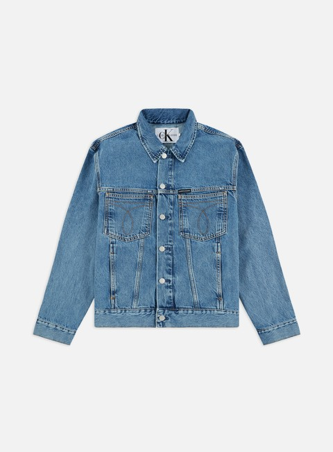 Denim Jackets Calvin Klein Jeans Oversided Iconic Trucker Jacket