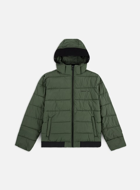 Down Jackets Calvin Klein Jeans Padded Stretch Puffer Jacket