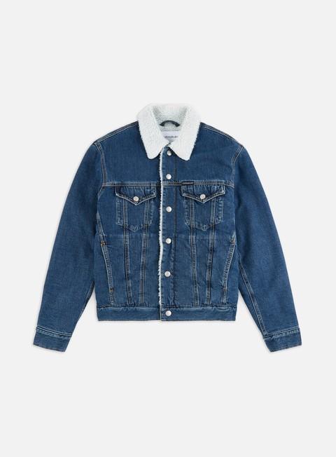Denim Jackets Calvin Klein Jeans Sherpa Foundation Denim Jacket