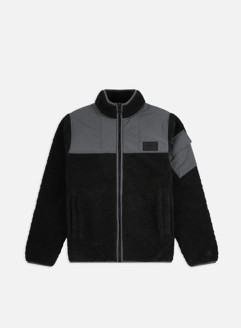 Maglioni e Pile Calvin Klein Jeans Sherpa Zip Through Jacket