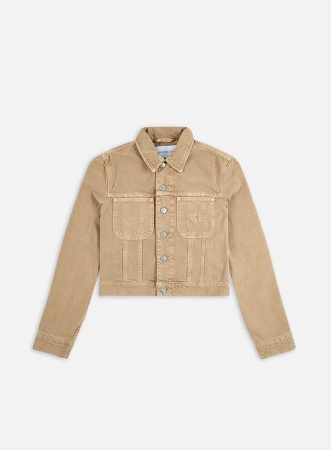 Giacche leggere Calvin Klein Jeans WMNS Cropped 90s Denim Jacket