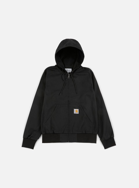 giacche carhartt active jacket black rigid