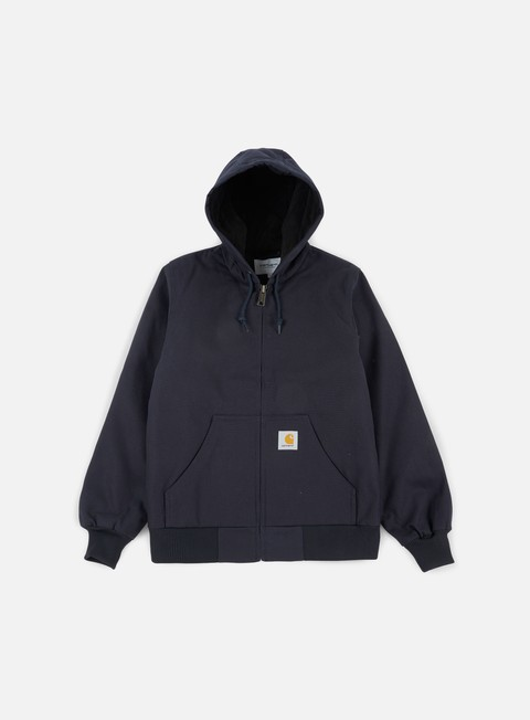giacche carhartt active jacket dark navy