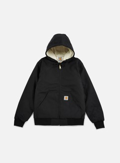 Carhartt - Active Jacket Pile Lined, Black Rigid 1