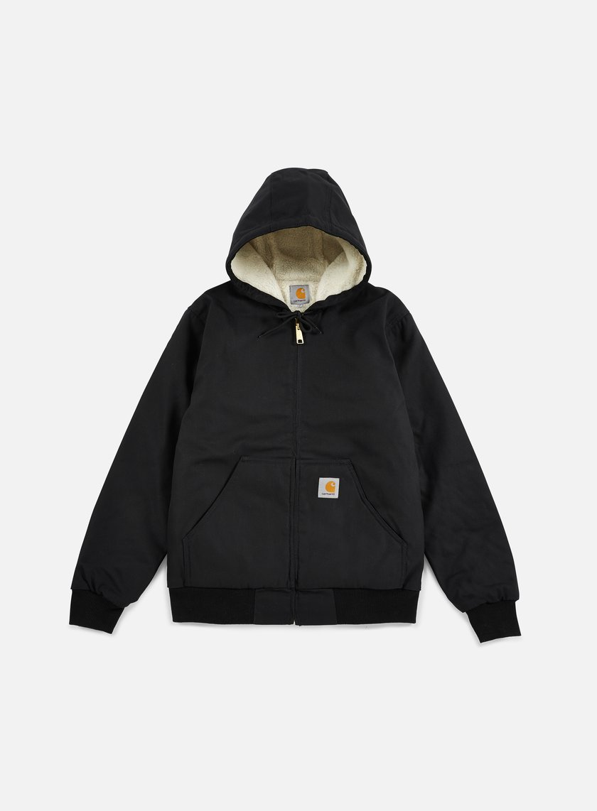 Carhartt - Active Jacket Pile Lined, Black Rigid