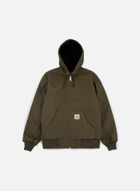 giacche carhartt active jacket tobacco