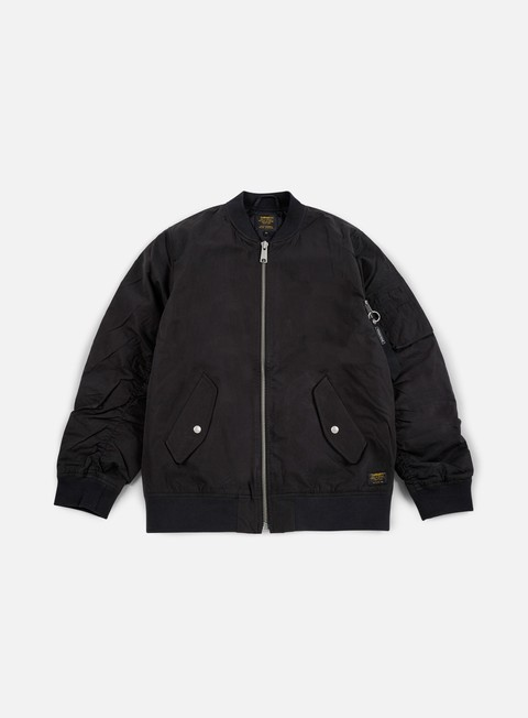 giacche carhartt adams jacket black