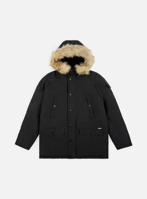 giacche carhartt anchorage parka black black
