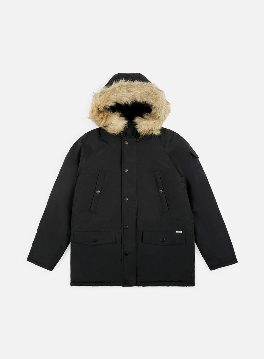 carhartt anchorage parka black black 199 00 i021866. Black Bedroom Furniture Sets. Home Design Ideas