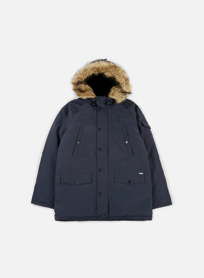 Carhartt - Anchorage Parka, Dark Navy/Black