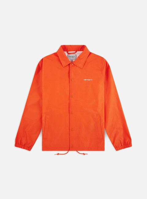 Light Jackets Carhartt Carhartt Script Coach Jacket