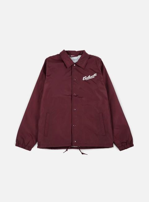 giacche carhartt carhartts coach jacket amarone white