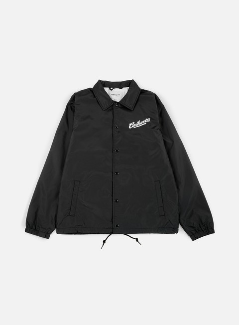 giacche carhartt carhartts coach jacket black white