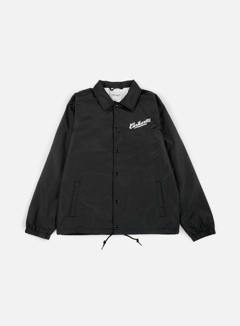 giacche carhartt carhartts coach jacket black white