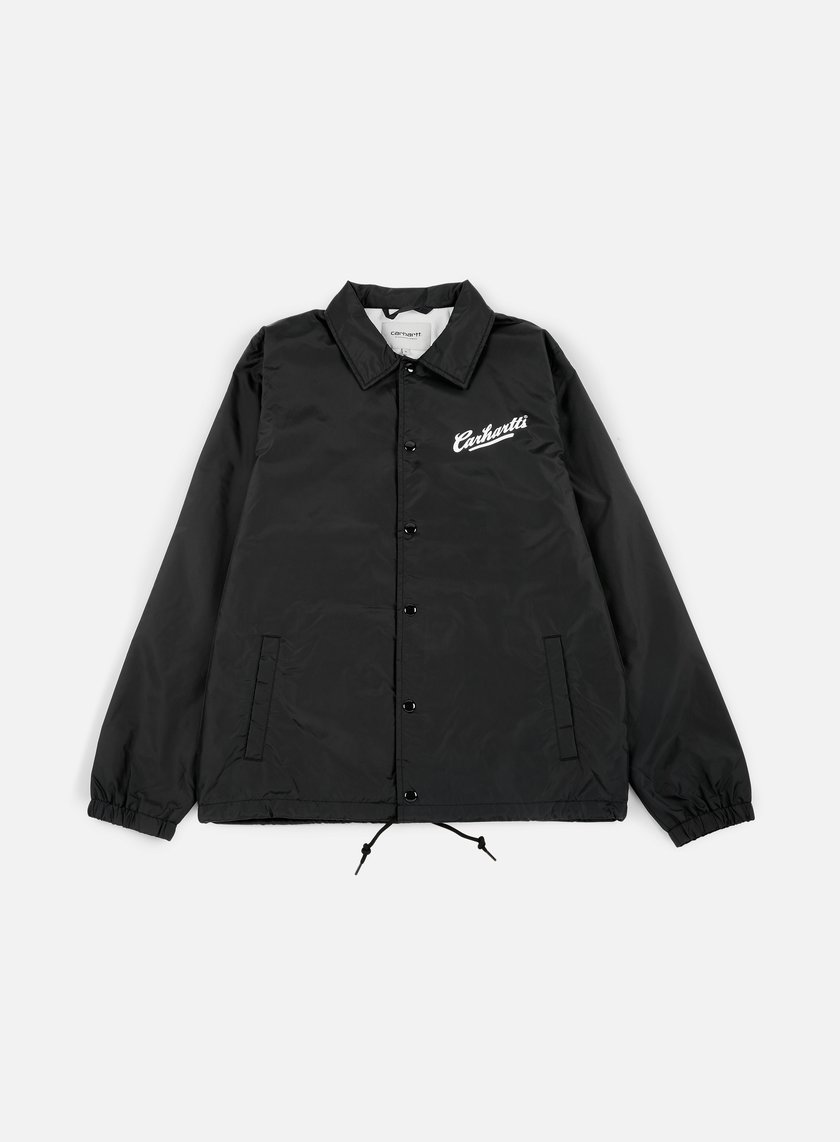 Carhartt - Carhartts Coach Jacket, Black/White
