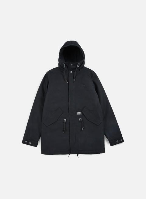 giacche carhartt clash parka black