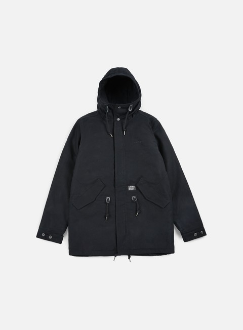 giacche carhartt clash parka black old