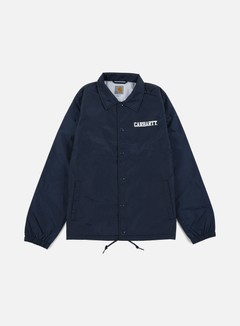 Carhartt - College Coach Jacket, Navy/White 1