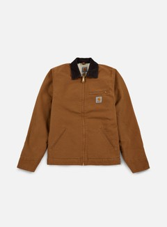 Carhartt - Detroit Jacket, Hamilton Brown/Tobacco Rinsed 1